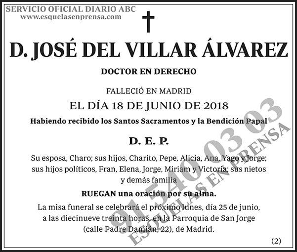 José del Villar Álvarez